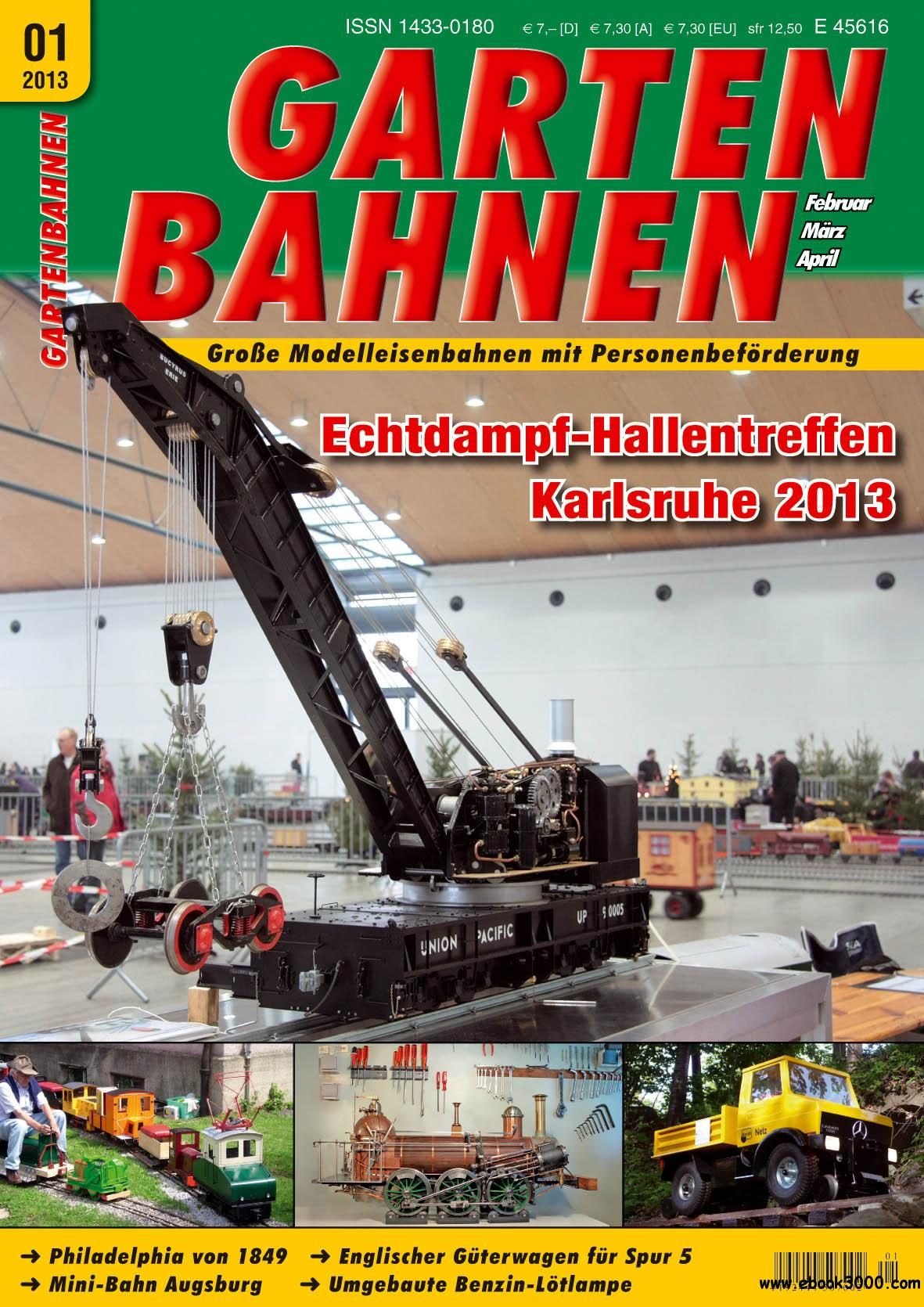 Gartenbahnen - Modelleisenbahnen Magazin Februar/Marz/April 01/2013 free download