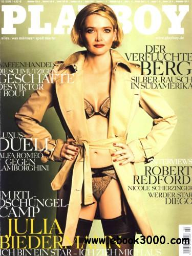 Playboy Germany - February 2008 free download