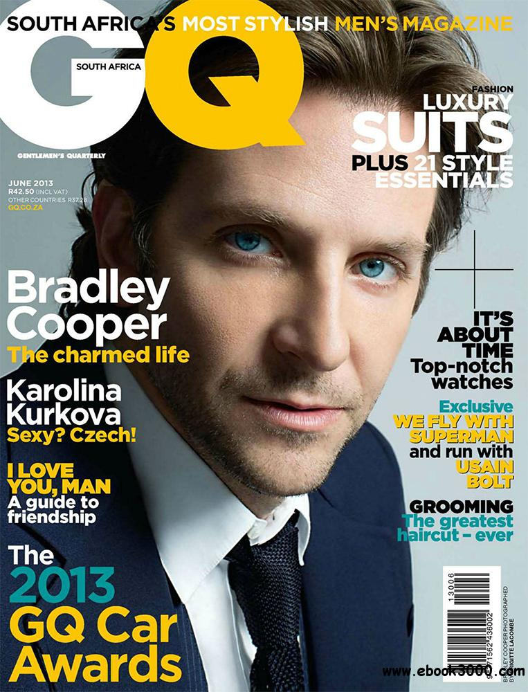 GQ June 2013 (South Africa) free download