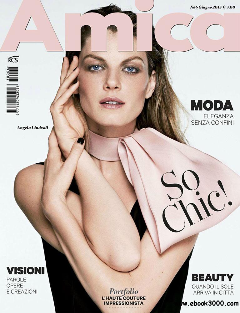 Amica Giugno 2013 (Italy) free download