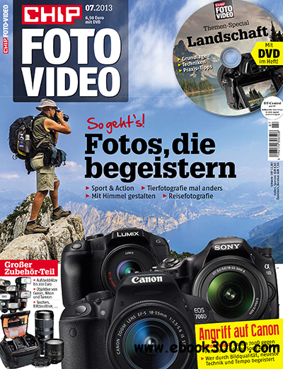 Chip Foto und Video Magazin Juli No 07 2013 free download