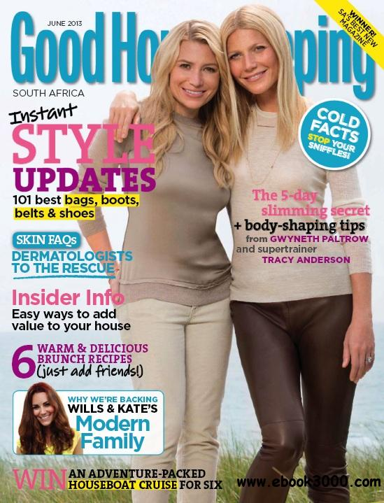 Good Housekeeping South Africa - June 2013 free download