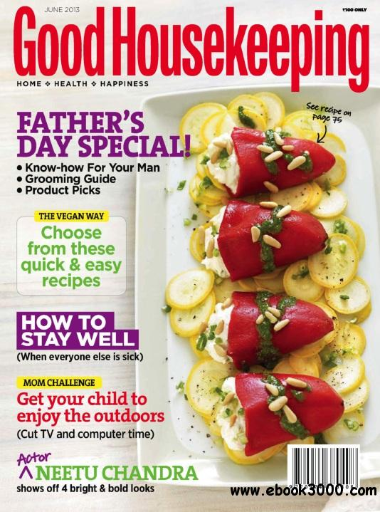 Good Housekeeping India - June 2013 free download
