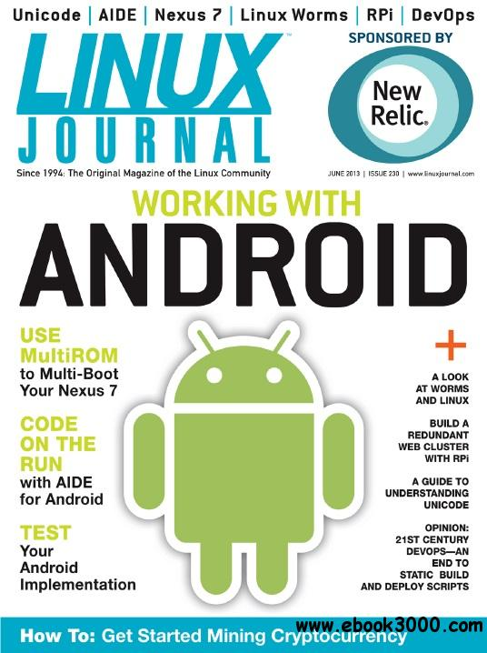 Linux Journal - June 2013 free download