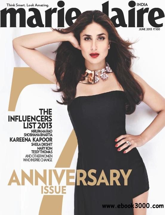 Marie Claire India - June 2013 free download
