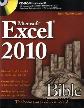 Excel 2010 Bible free download
