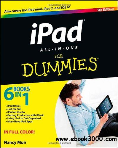 iPad All-in-One For Dummies, 5th Edition free download