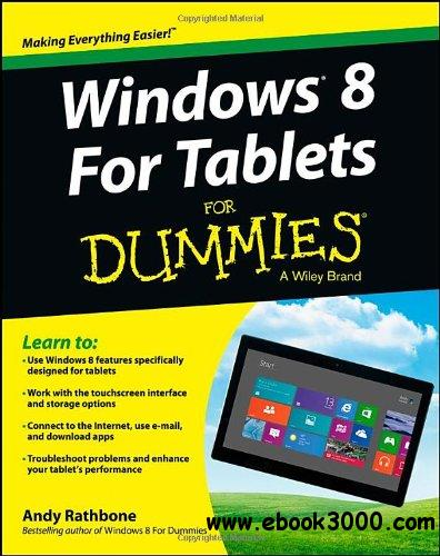 Windows For Tablets For Dummies free download