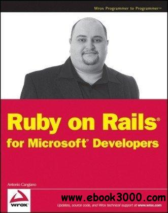 Ruby on Rails for Microsoft Developers free download