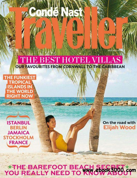 Conde Nast Traveller UK - July 2013 free download