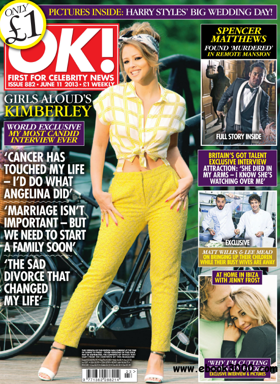 OK! First for Celebrity News N.882 - June 11, 2013 free download