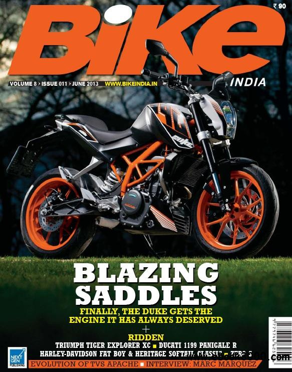 Bike India - June 2013 free download