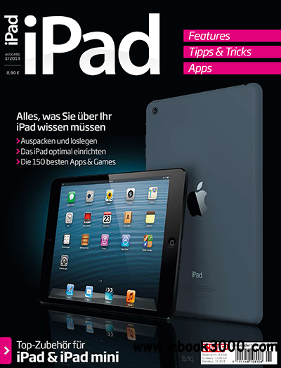 CHIP Sonderheft: iPad 01/2013 free download
