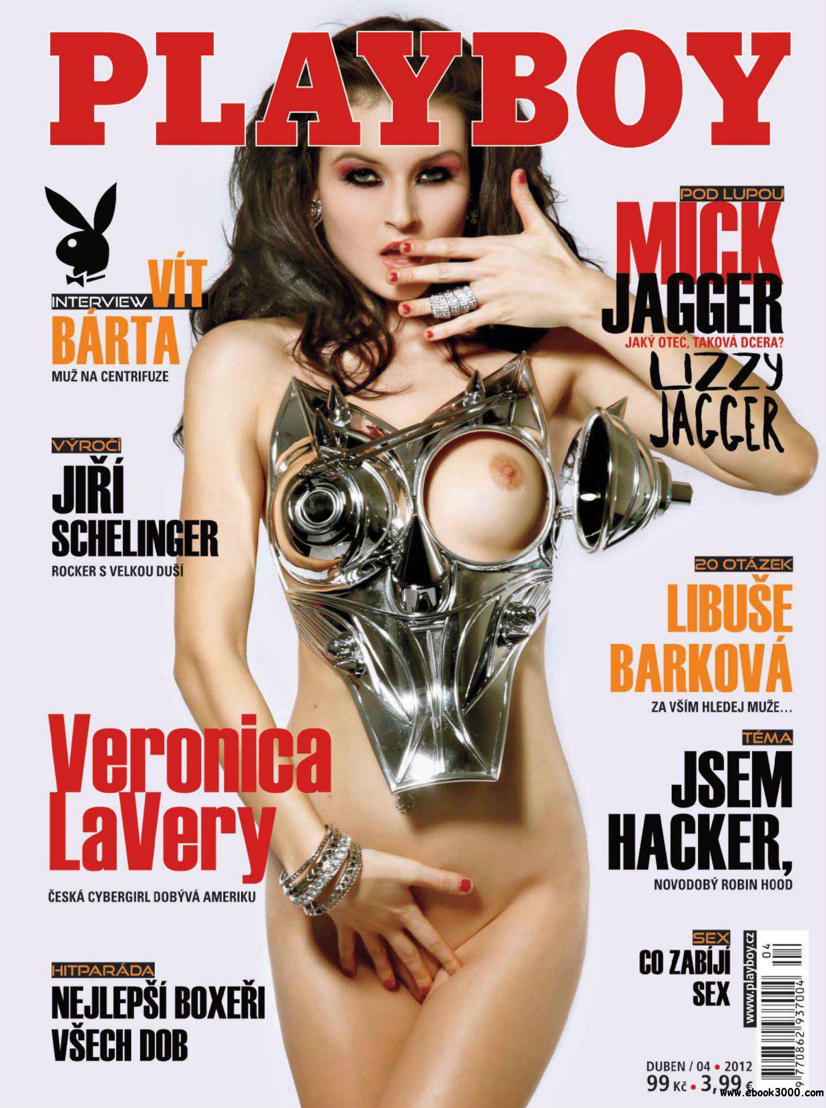 Playboy Czech - April 2012 free download