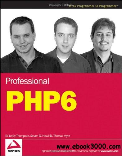 Professional PHP6 free download