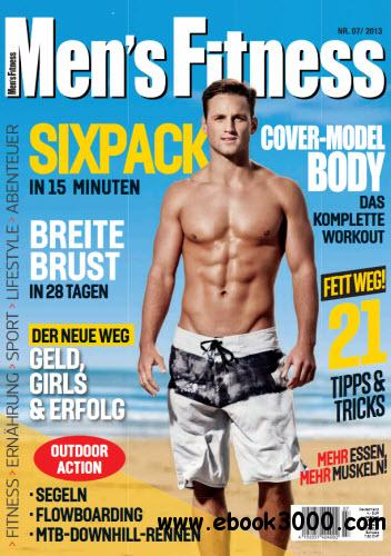 Men's Fitness Magazin Juli No 07 2013 free download