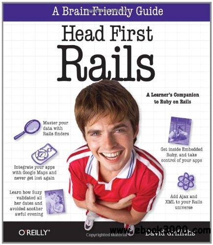 Head First Rails: A Learner's Companion to Ruby on Rails free download