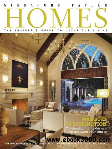 Singapore Tatler Homes Magazine June/July 2013 free download