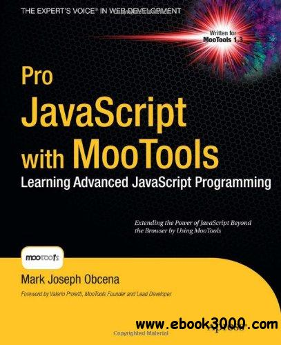 Pro javascript with MooTools free download