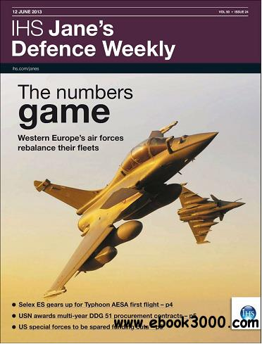 Jane's Defence Weekly Magazine June 12, 2013 free download