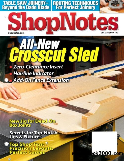 ShopNotes Issue #130 (Jule - August 2013) free download