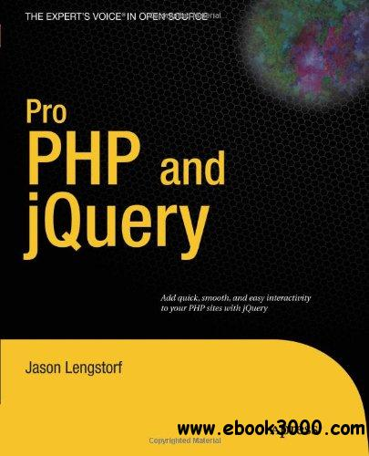 Pro PHP and jQuery free download