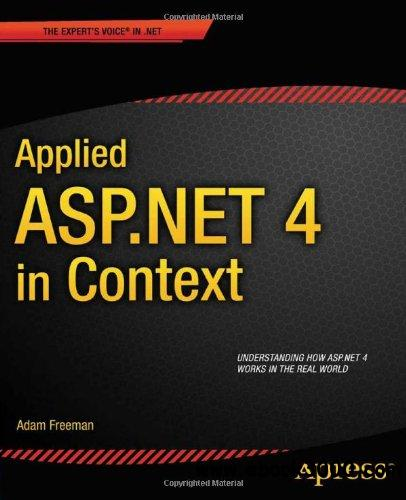 Applied ASP.NET 4 in Context free download