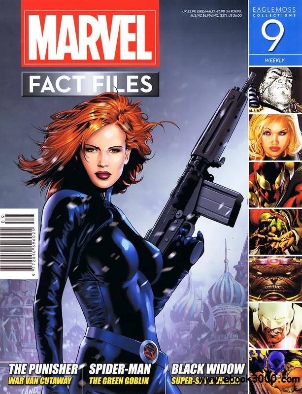 Marvel Fact Files 009 (2013) free download
