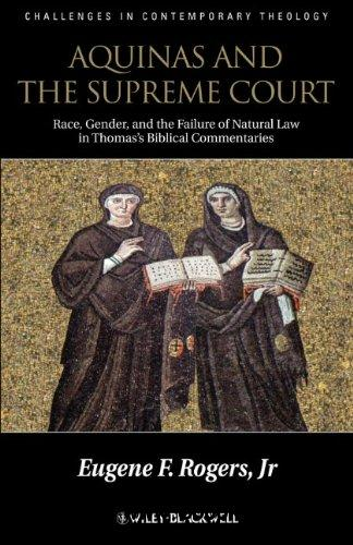 Aquinas and the Supreme Court: Biblical Narratives of Jews, Gentiles and Gender free download