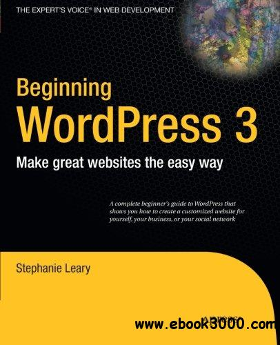 Beginning WordPress 3 free download