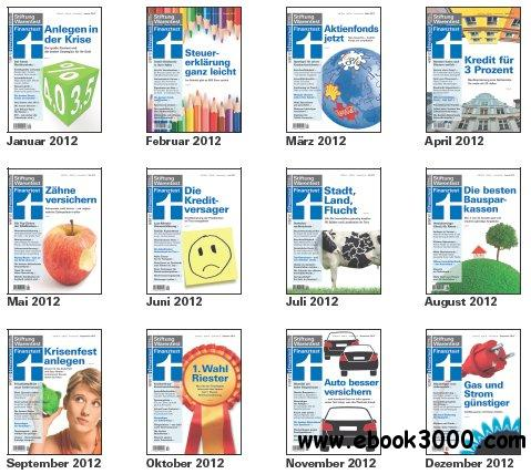 Finanztest Magazin Jahrgang 2012 Full Year Collection free download
