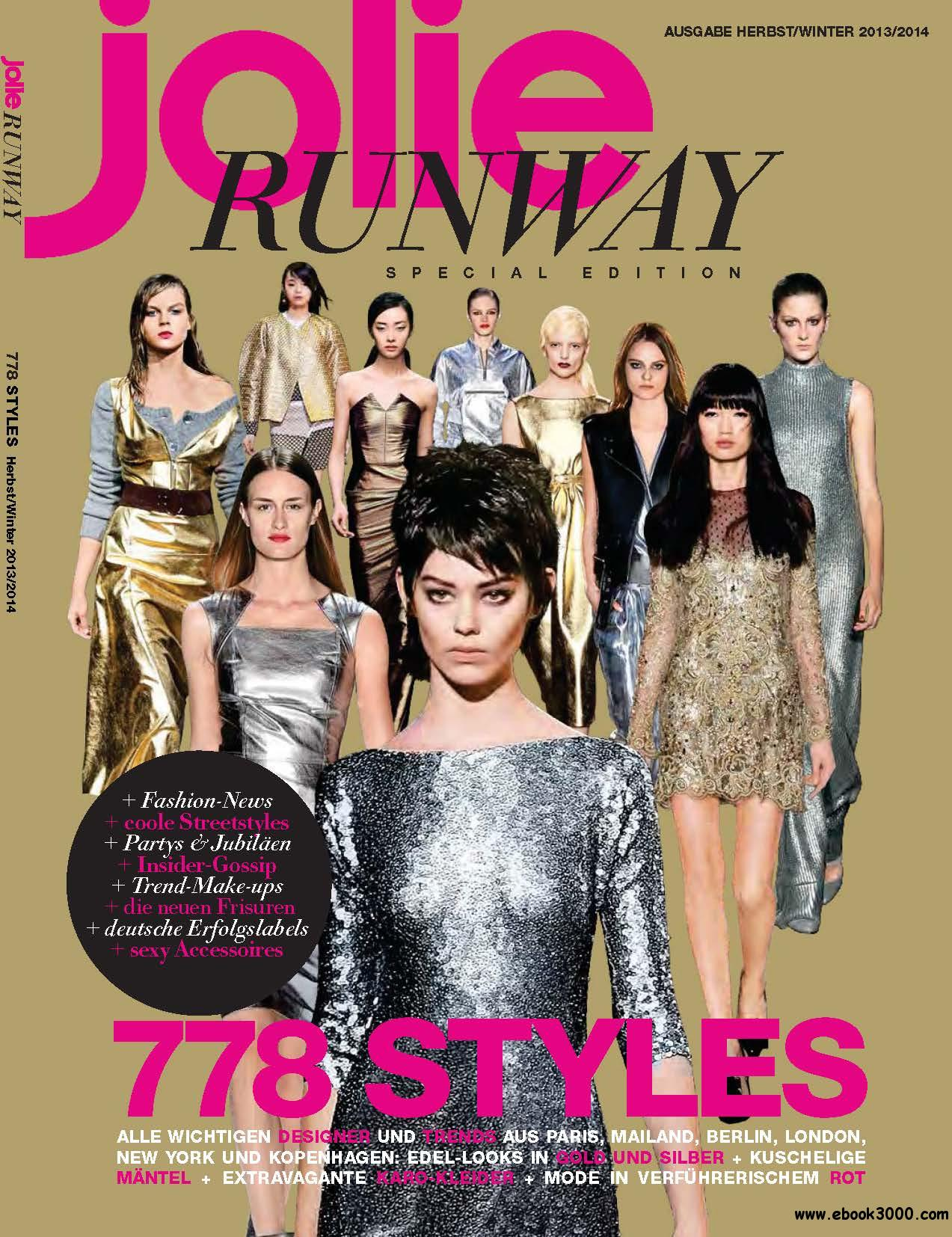 Jolie Special: Runway Herbst/Winter 2013/2014 free download