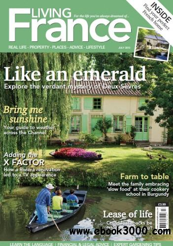 Living France UK - July 2013 free download