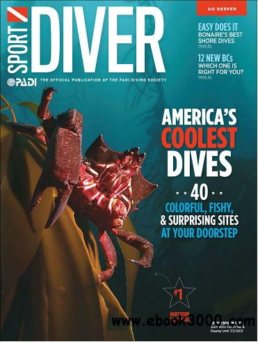 Sport Diver Magazine July 2013 free download