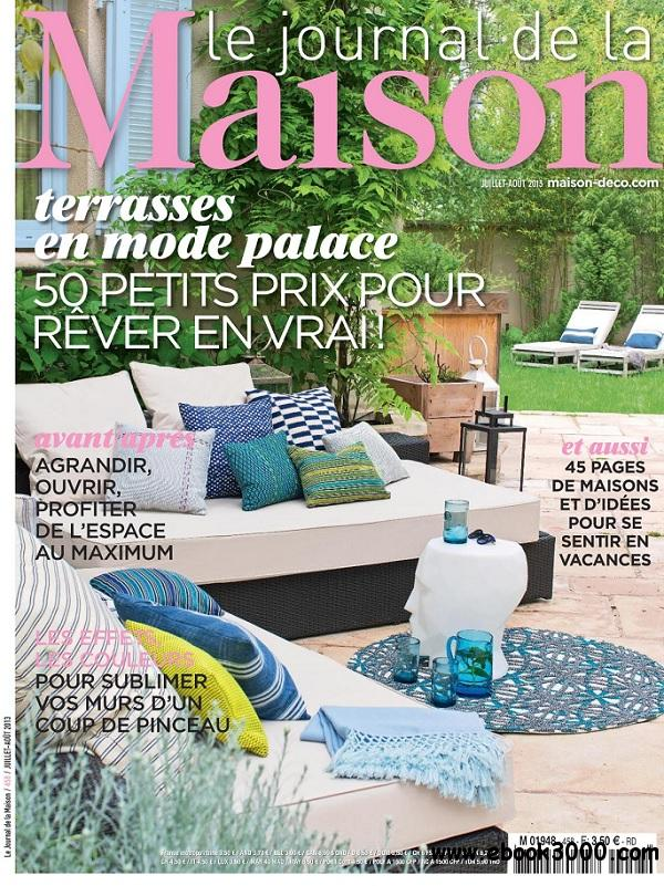 Le Journal de la Maison No.458 - Juillet/Aout 2013 free download