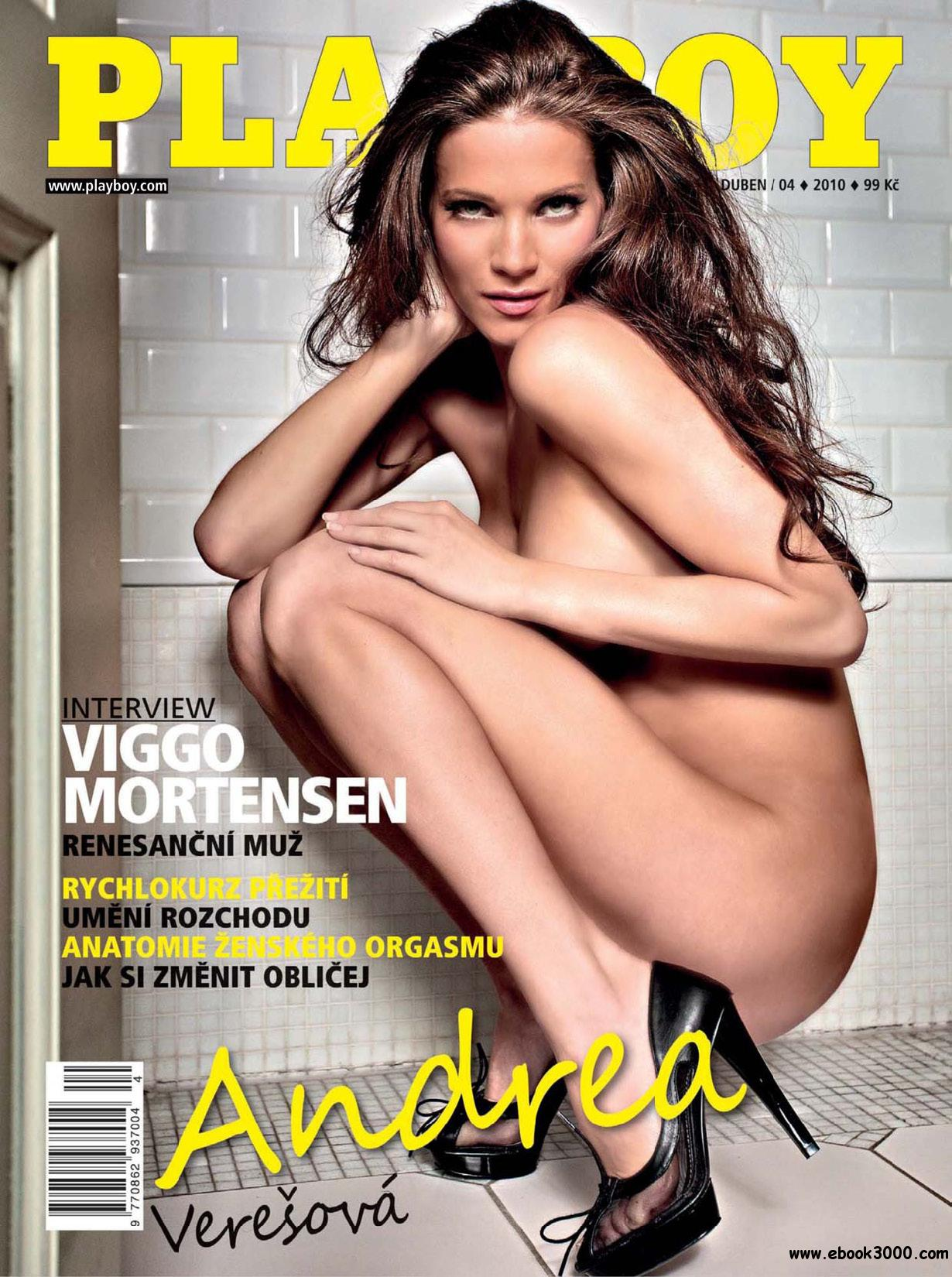 Playboy Czech - April 2010 free download