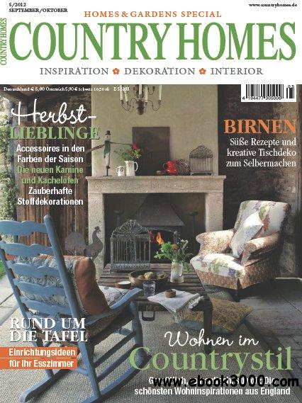 Country Homes (German Edition) Magazin September Oktober No 05 2012 free download
