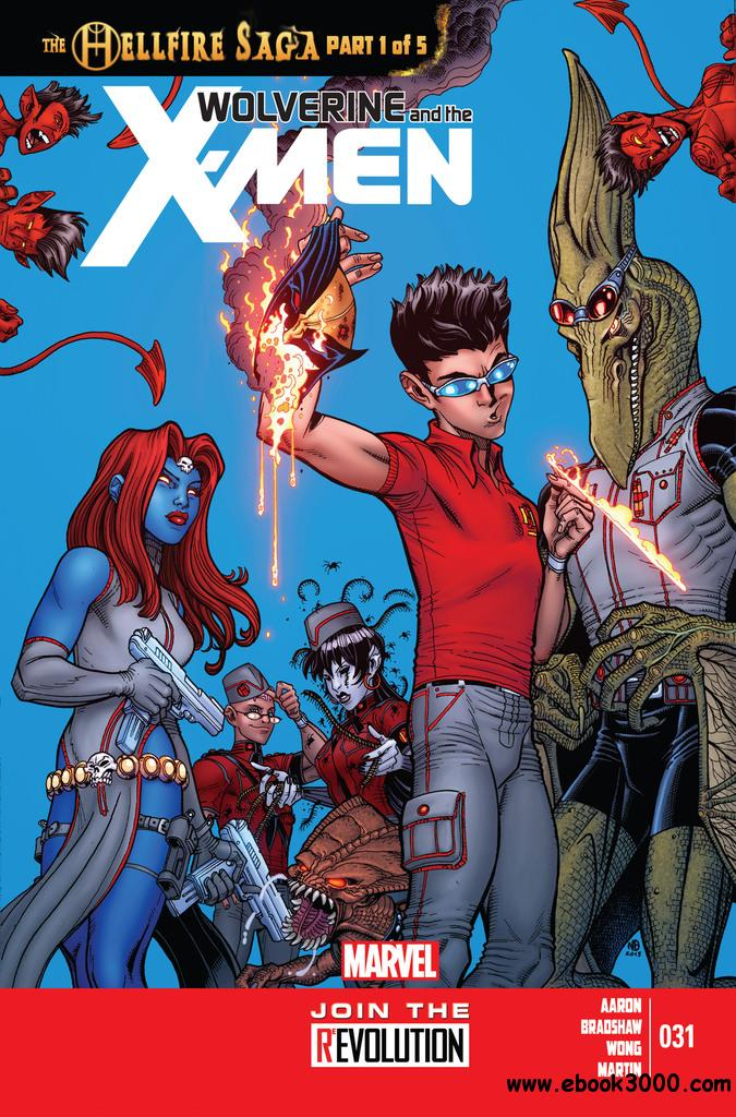 Wolverine and the X-Men 031 (2013) free download