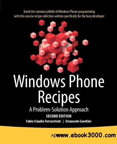 Windows Phone Recipes, 2nd Edition free download