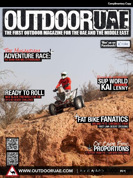 OutdoorUAE - April 2013 free download