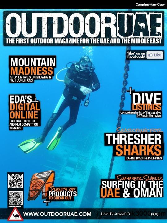 OutdoorUAE - June 2013 free download