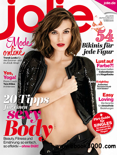 Jolie - Frauenmagazin Juli 07/2013 free download