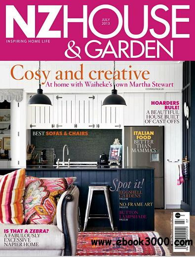 NZ House & Garden Magazine July 2013 free download