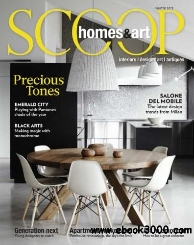 Scoop Homes & Art Magazine - Winter 2013 free download