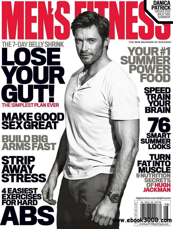 Men's Fitness USA - July/August 2013 free download