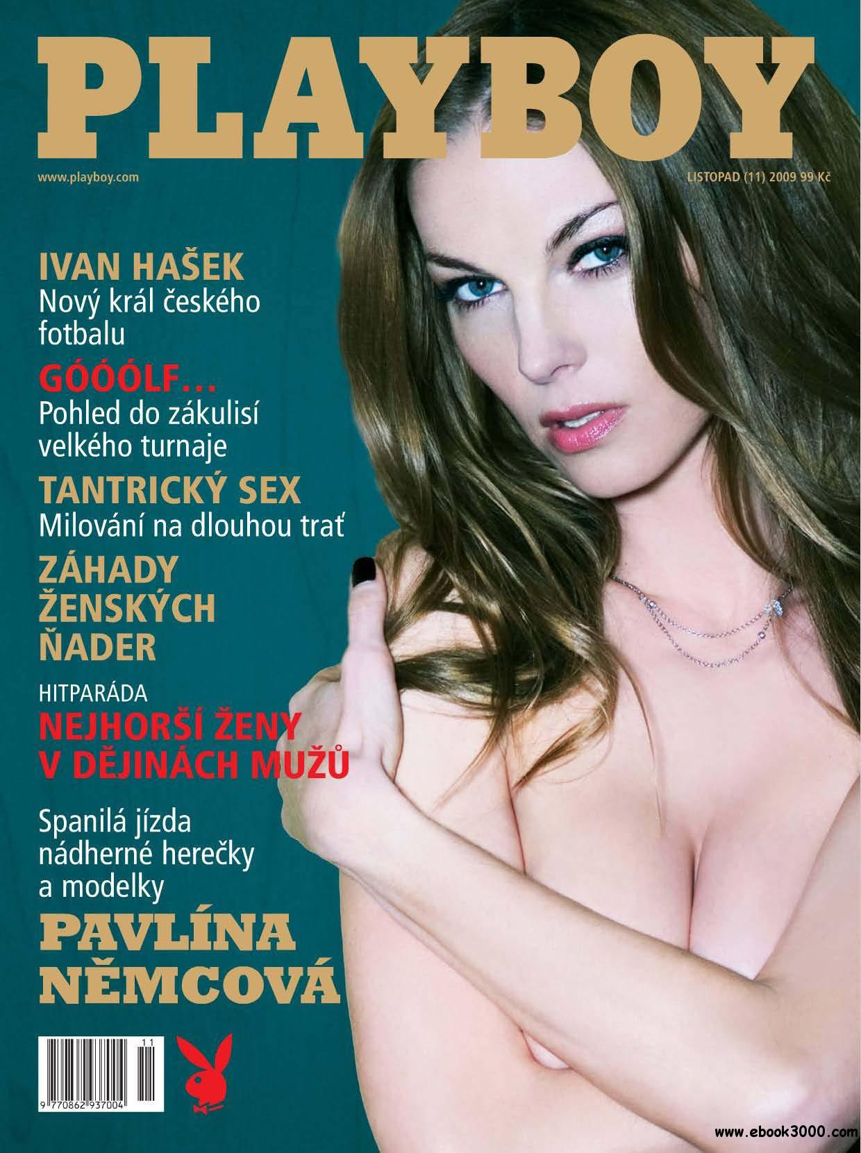 Playboy Czech - November 2009 free download