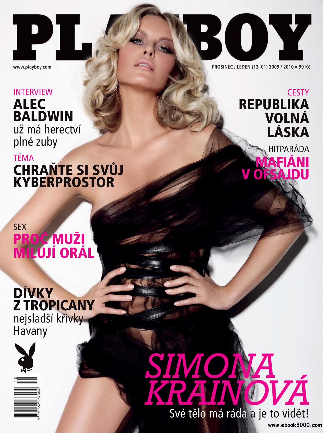 Playboy Czech - December 2009 / January 2010 free download