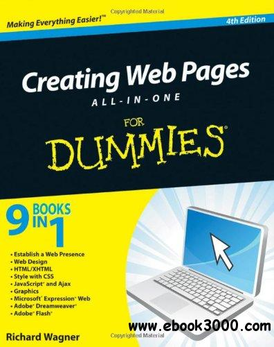 Creating Web Pages All-in-One For Dummies, 4th Edition free download