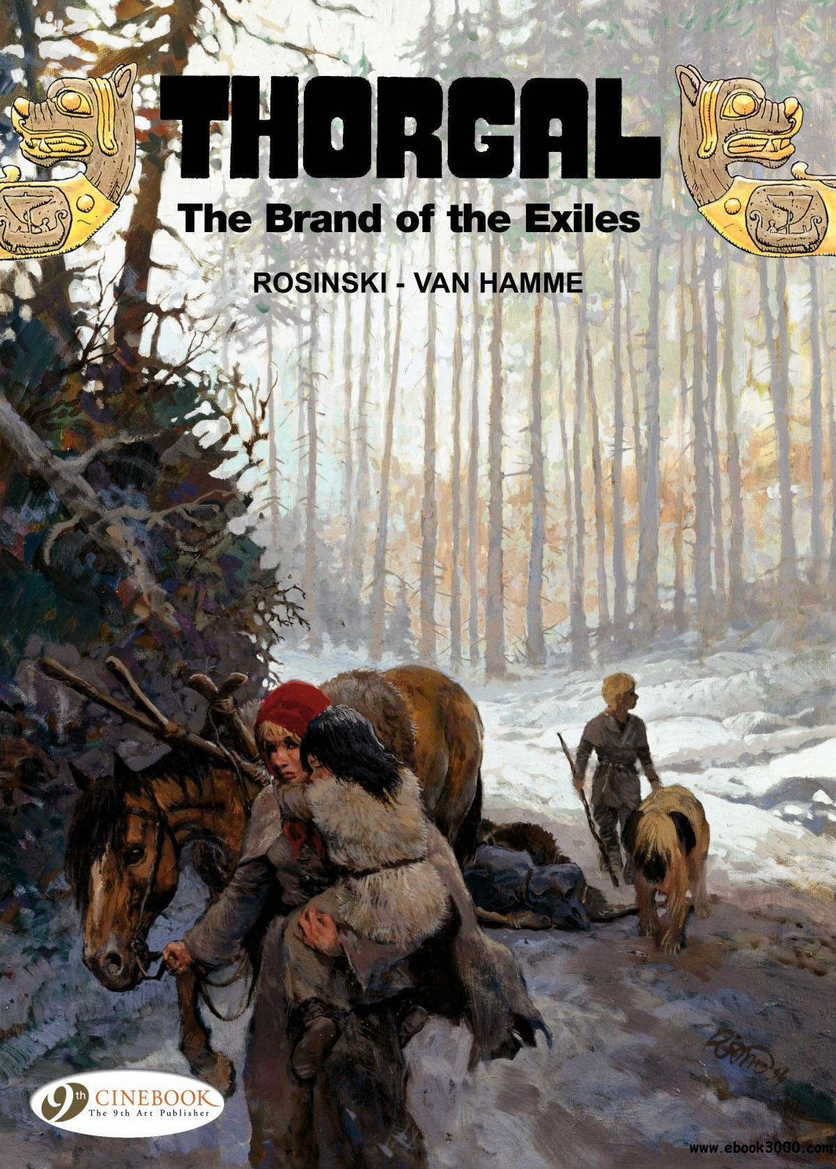Thorgal 12 - The Brand of the Exiles free download