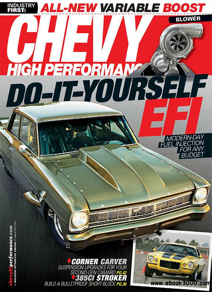 Chevy High Performance August 2013 (USA) free download